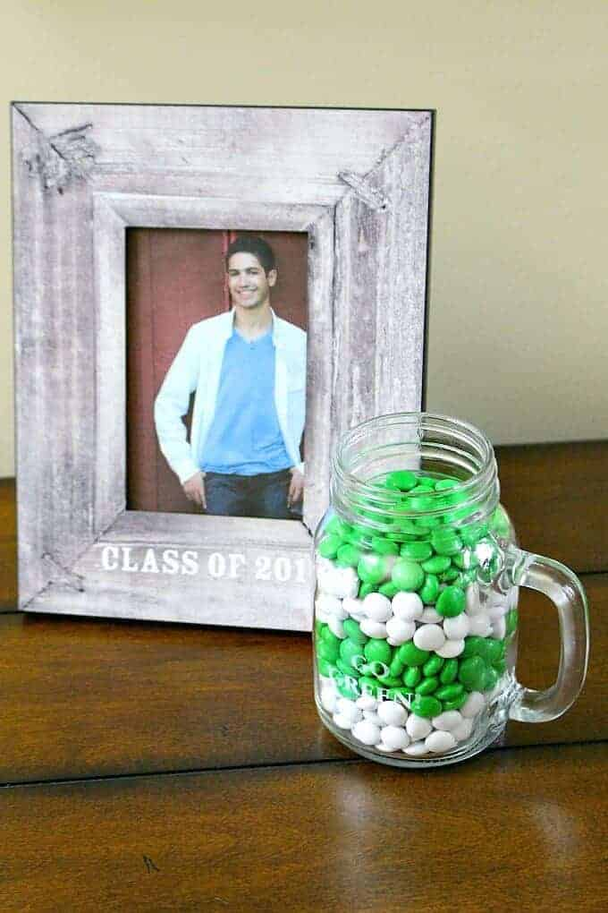 Personalized mug and frame gifts for graduate