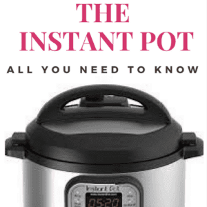 How to use an Instapot! Everything Instant Pots!