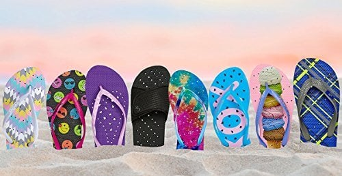Showaflops Anti-Microbial Flip Flops for Dorm Showers | The Top Graduation Gifts