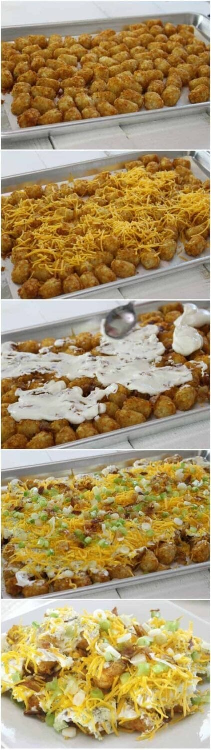 How to make Totchos! Tater Tot Nachos Recipe