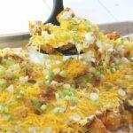 Tachos in a pan