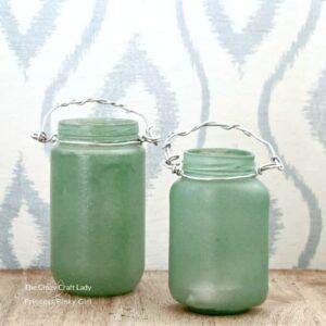 How to Make Sea Glass Lanterns