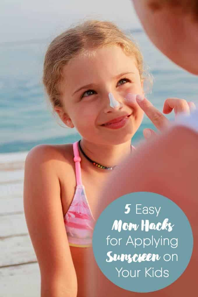 5 Easy Mom Hacks for Applying Sunscreen by Simply Stacie