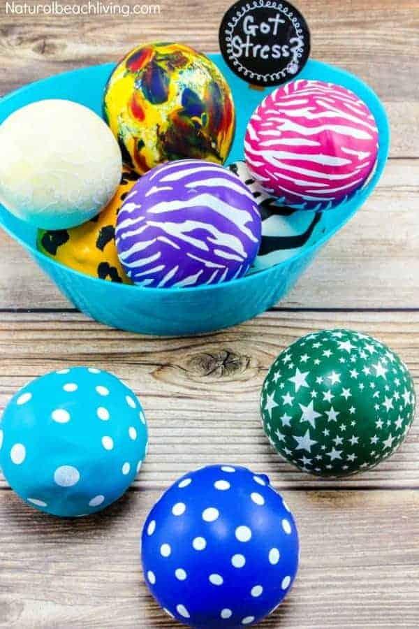 DIY Stress Balls by Natural B