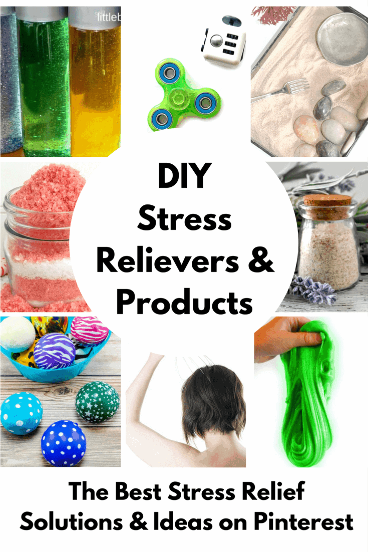 These DIY Stress Relief Tips are Amazing! From stress balls, to essential oils to fidget spinners. These stress relieving techniques will help put your mind at ease.