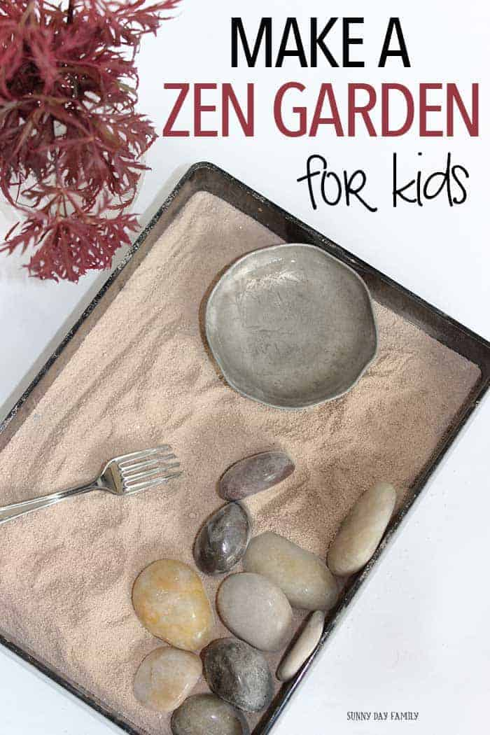 DIY Zen Garden by Sunny Day Family