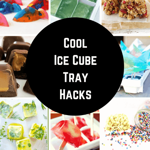 The Coolest Ice Tray Hacks Around. Those plastic trays can be used to make so much more than just ice!