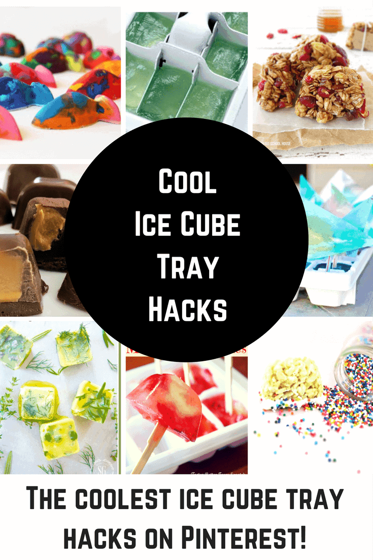 The Coolest Ice Cube Tray Hacks Around. Those plastic trays can be used to make so much more than just ice!