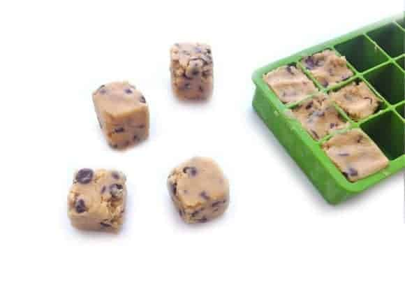 On Call Cookie Dough Hack from Good Housekeeping plus tons of other great Ice Cube Tray Hacks!
