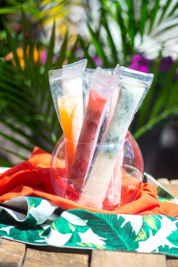 Prosecco Popsicles by Go Go Go Gourmet and other amazing adult popsicle recipes!