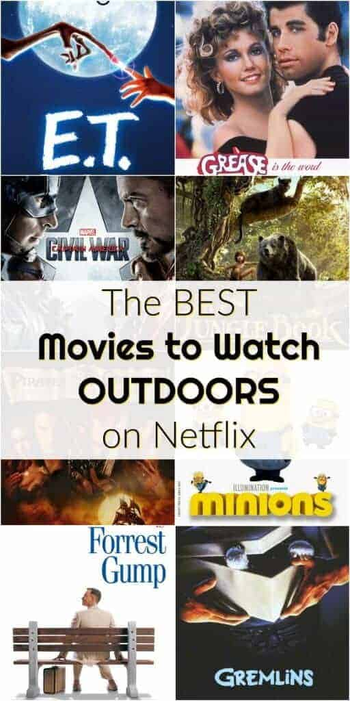 The best movies to watch outdoors on Netflix