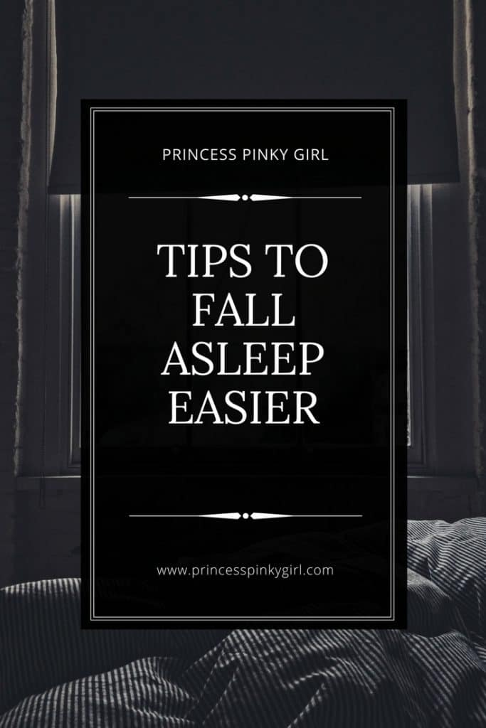 Tip to fall asleep easier