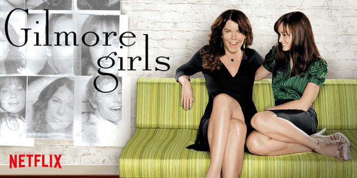 Gilmore Girls | Shows that Moms are Sneak Binge-Watching Right now on Netflix.