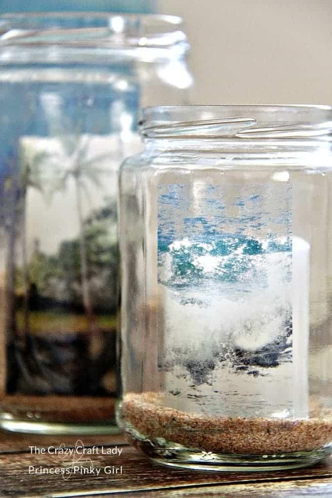 glass jar image transfer how to add any image to glass princess