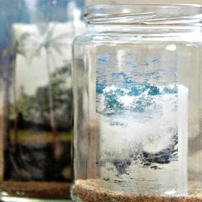 Glass Jar Image Transfer – How to Add Any Image to Glass