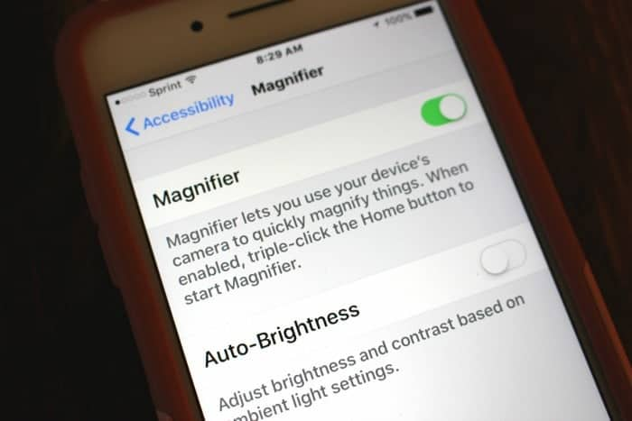 How to use your iPhone magnifier
