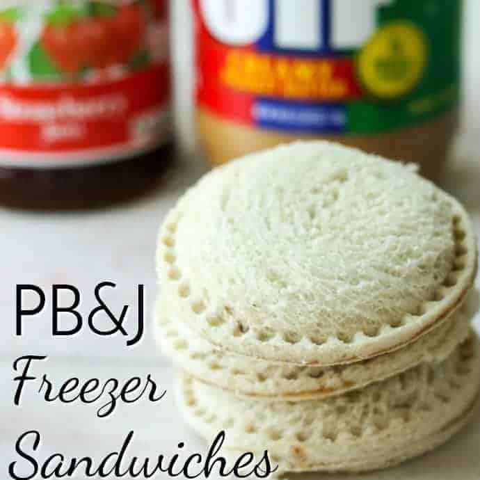 DIY Uncrustable Freezer Sandwiches