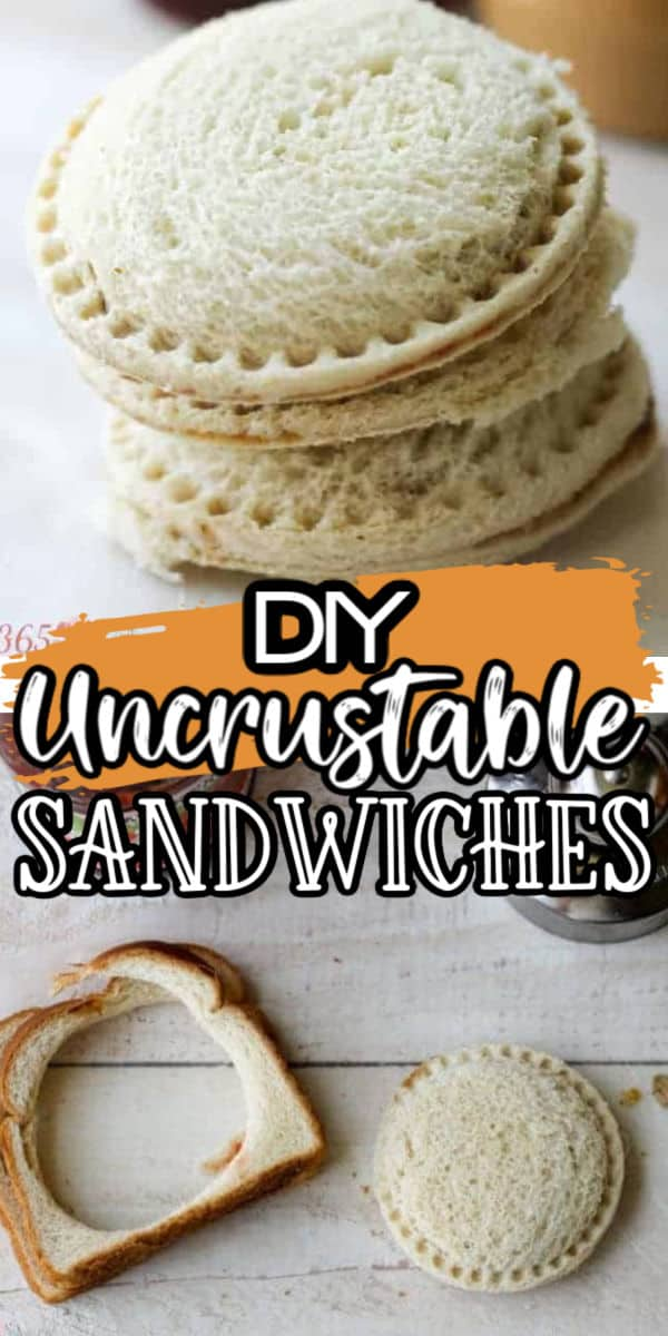 Uncrustable Freezer Sandwiches