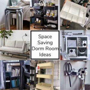 Space Saving Dorm Room Ideas