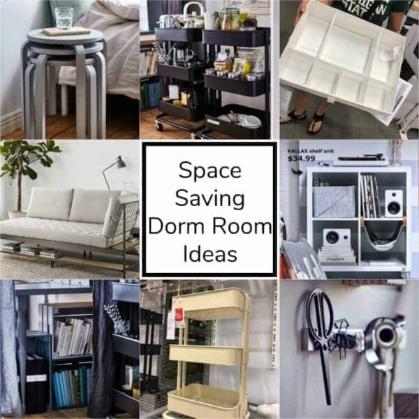 Space Saving Dorm Room Ideas that you will love!