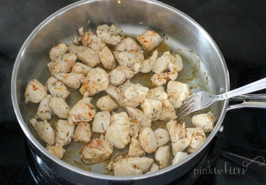 Check out this quick 30 minute dish. If you love chicken and you love pasta, this Three Cheese Tortellini Rosemary Chicken Recipe is going to be a new favorite!