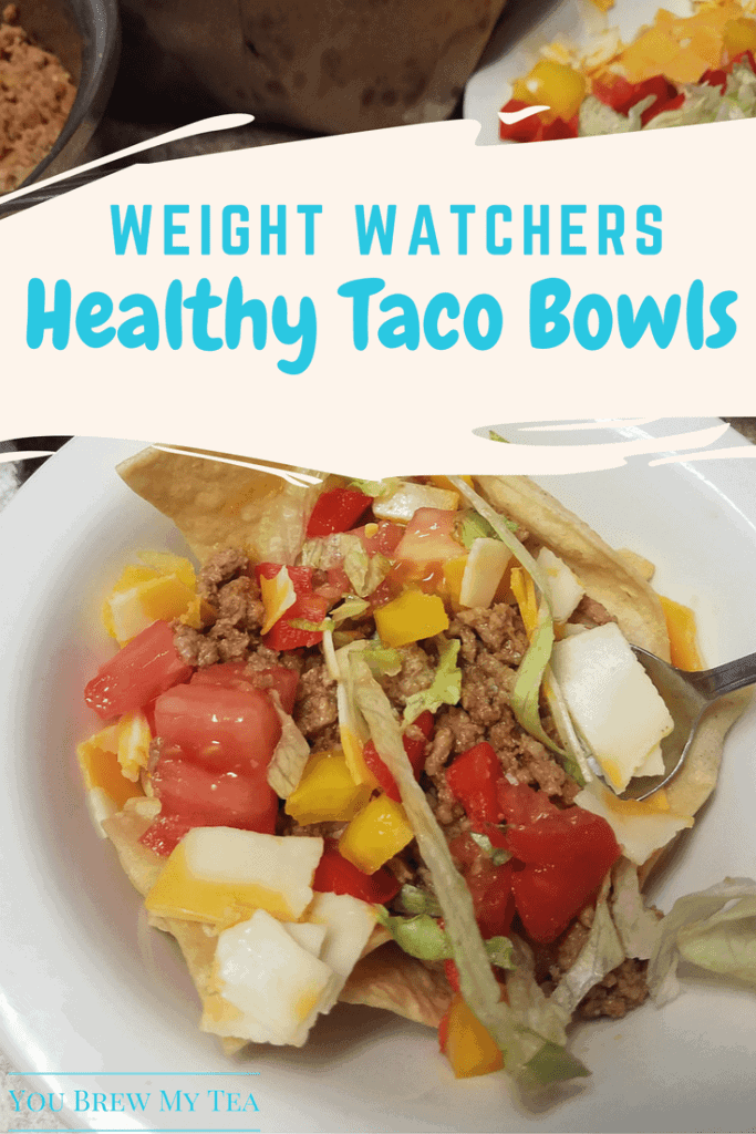 Weight Watchers Taco Bowls by You Brew My Tea