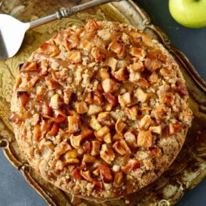 Best Caramel Apple Coffee Cake