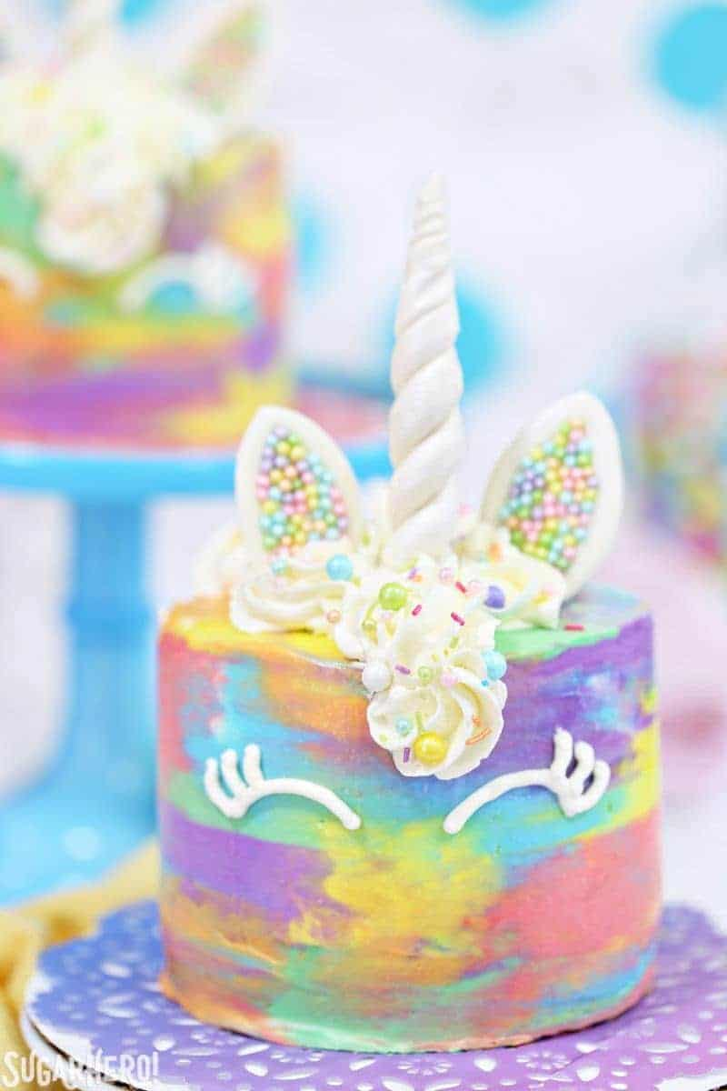 Colorful Unicorn Cakes by Sugar Hero | Dozens of Magical Unicorn Ideas for Kids of All Ages!