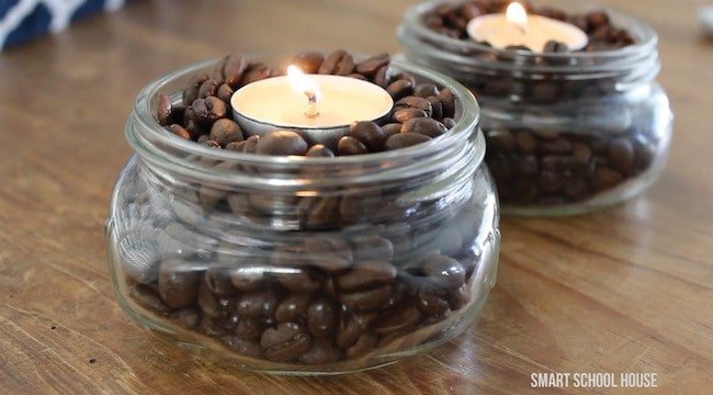 DIY Vanilla Coffee Candle | Smell Hacks that Will Make Your Home Smell Amazing.