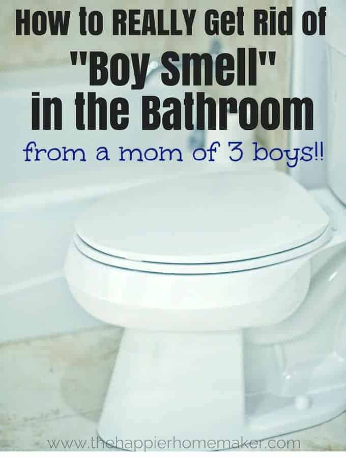 How to get rid of boy smell in the bathroom | Smell Hacks to Make Your Home Smell Amazing!