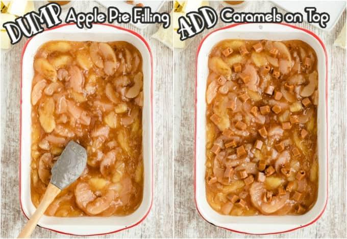 How to Make Caramel Apple Dump Cake step 1