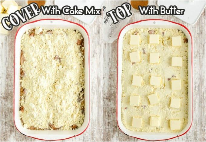 How to make Caramel Apple Dump Cake step 2