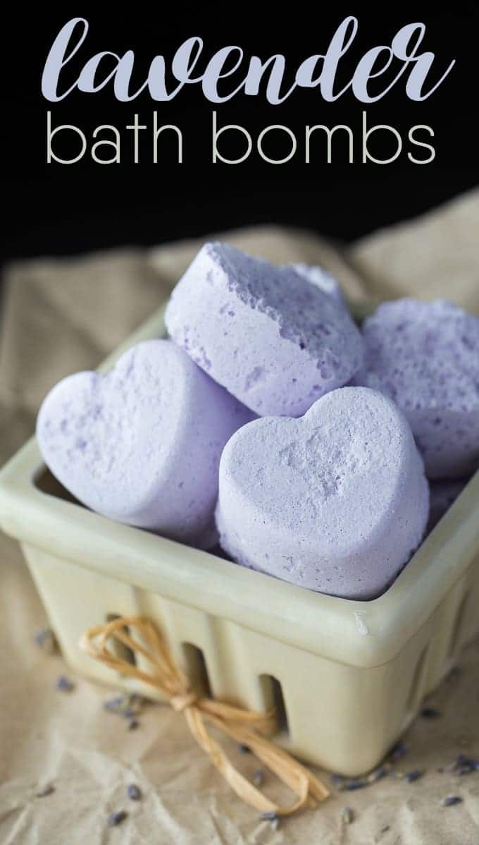 Lavender Bath Bombs by Simply Stacie