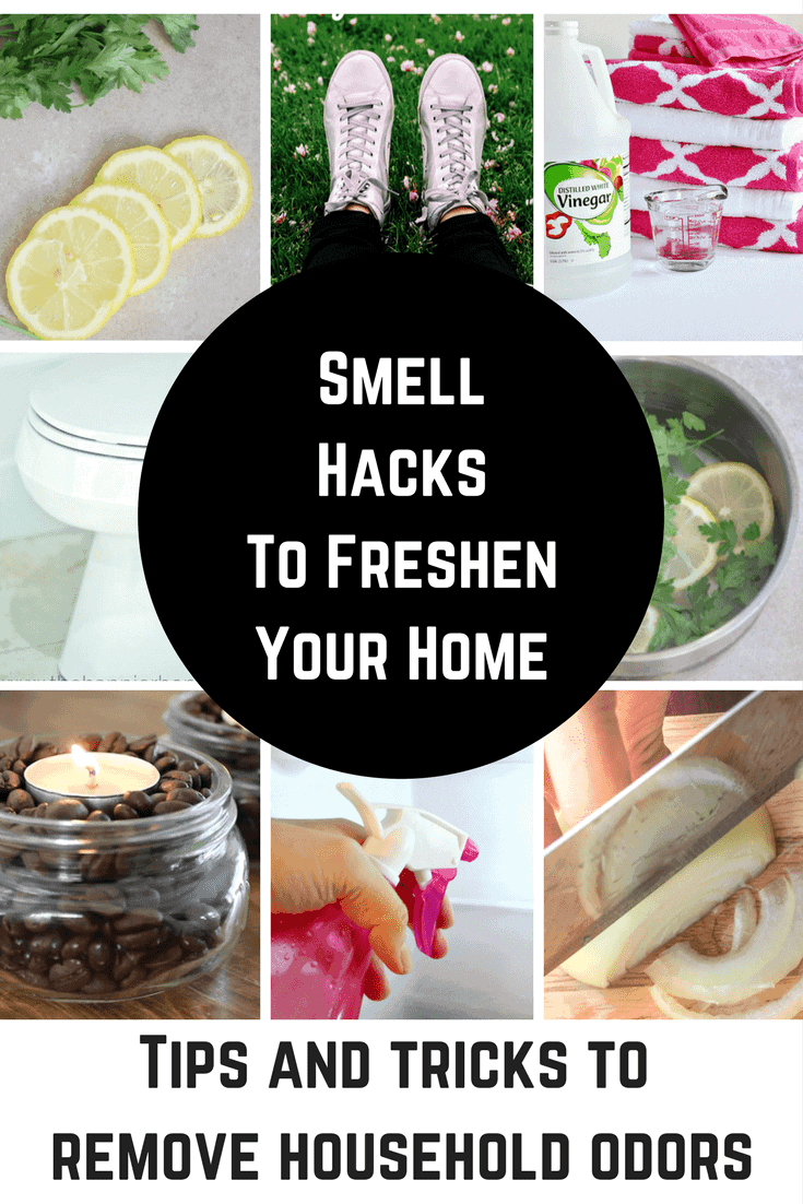 Smell Hacks are and tips and tricks that will help things that don't smell good a thing of the past. These great hacks will have your house smelling amazing in no time at all!