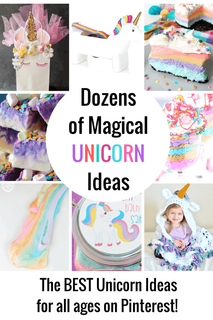 Dozens of Magical Unicorn Ideas for Kids of All Ages!