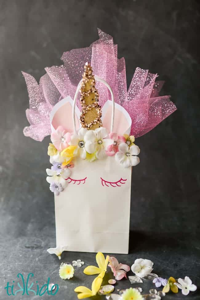 Unicorn Gift Bag by Tikkido | Dozens of Magical Unicorn Ideas for Kids of All Ages!