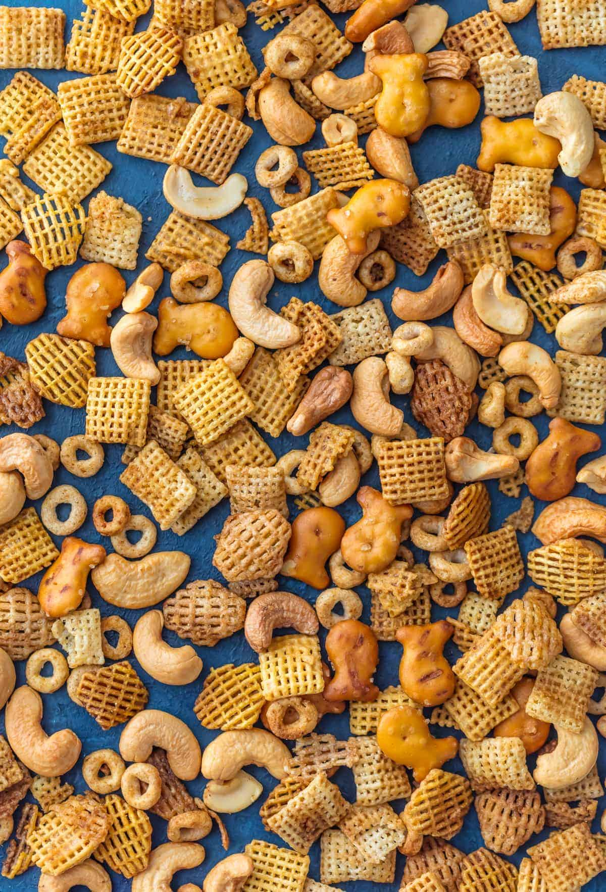 Best Ever Chex Party Mix by The Cookie Rookie and other amazing Chex Mix Recipes!