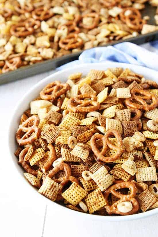 Brown Butter Chex Mix by Two Peas and Their Pod and other amazing Chex Mix Recipes!