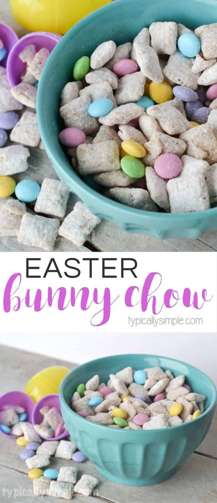 Easter Bunny Chow by Typically Simple and other amazing Chex Mix Recipes!