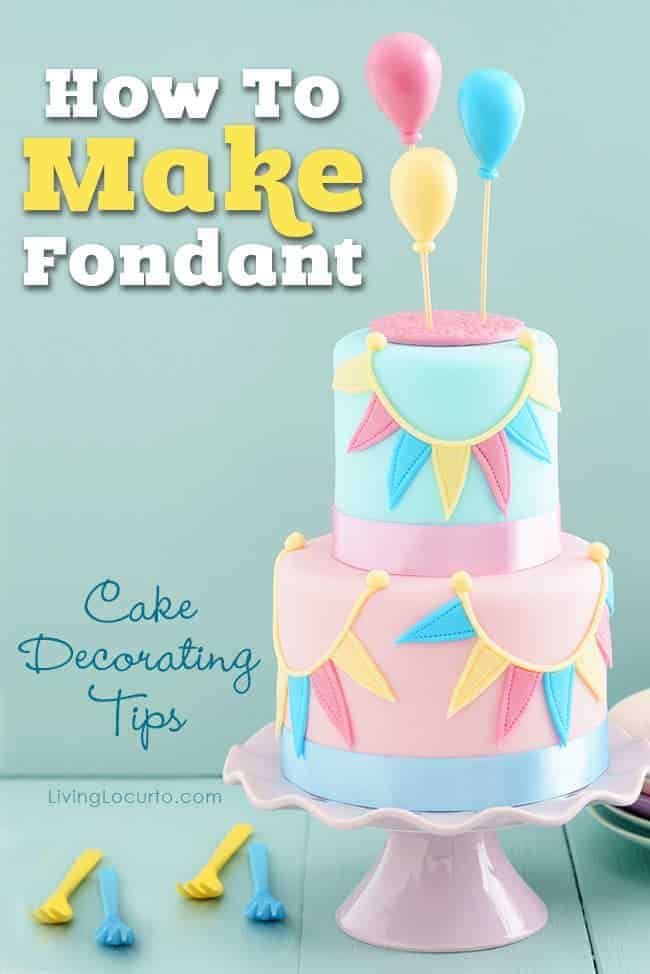 How To Make A Fondant Cake By Living Locurto | Become A Pro At Designing  Cakes
