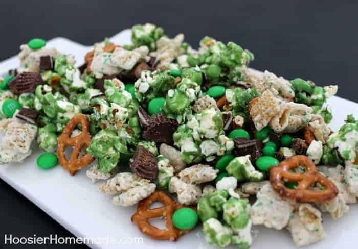 Luck of the Irish Party Mix by Hoosier Homemade and other amazing Chex Mix Recipes!