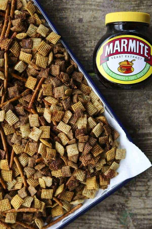 Marmite Chex Mix by Foodie with Family and other amazing Chex Mix Recipes!