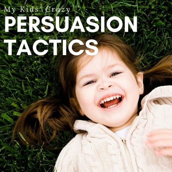 My Kids' Crazy Persuasion Tactics - Princess Pinky Girl