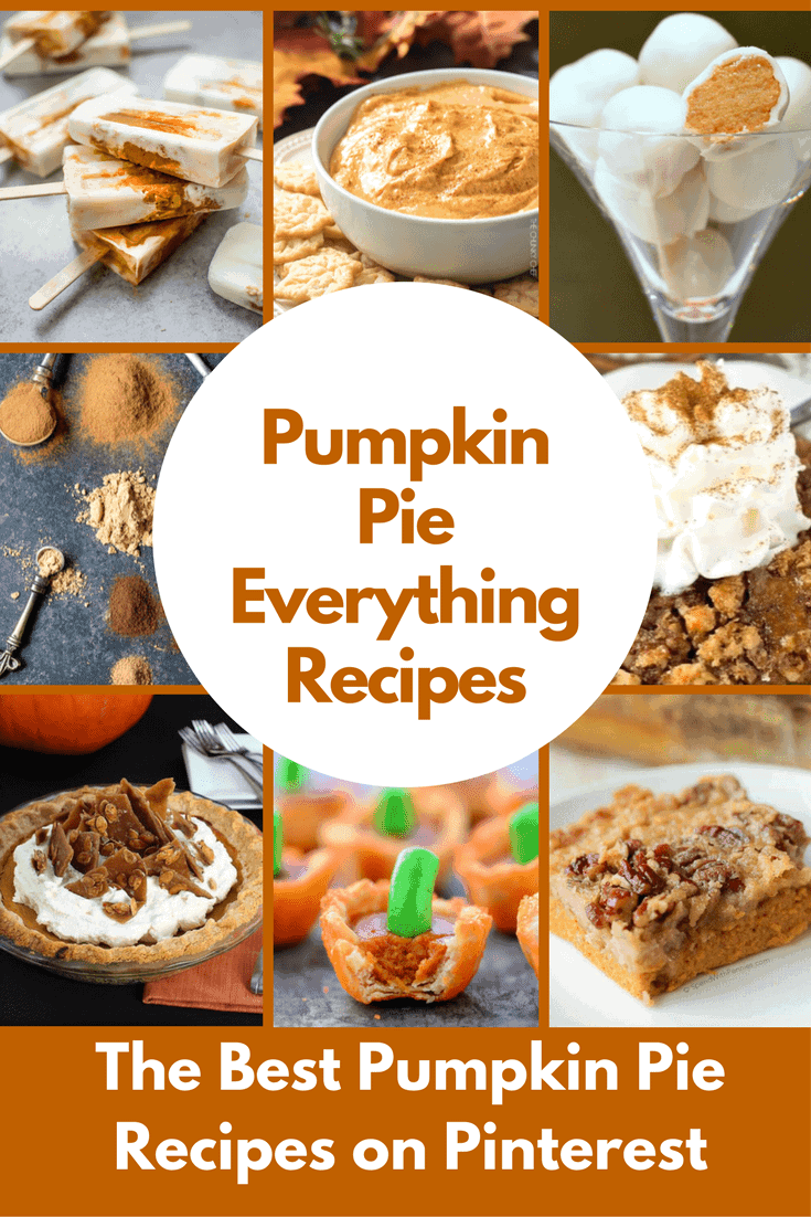 25 Delicious Pumpkin Pie and Pumpkin Pie Flavored Recipes!
