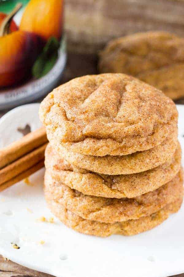 Pumpkin Spice Cookies by Just So Tasty | Pumpkin Spice and Everything Nice: Pumpkin Spice Recipes for Fall