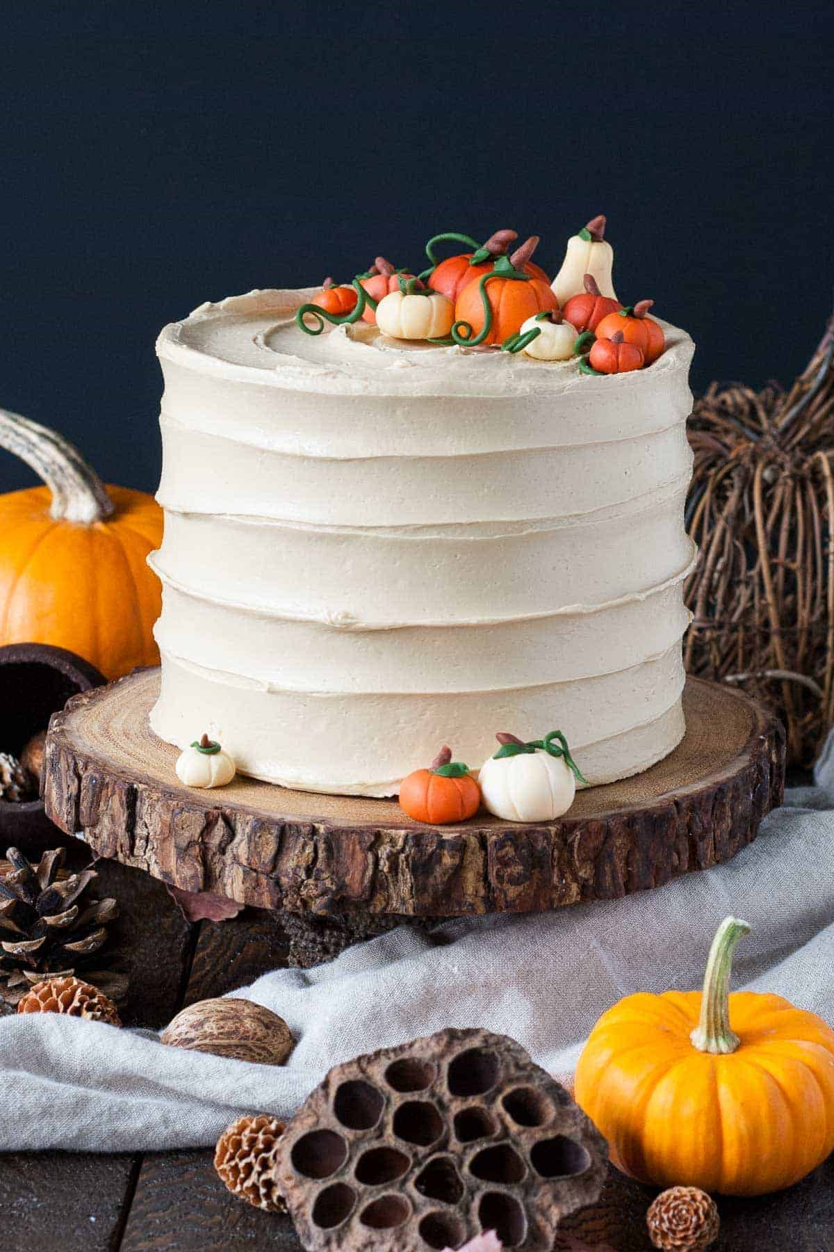 Pumpkin Spice Latte Cake by Liv for Cake | Pumpkin Spice and Everything Nice: Pumpkin Spice Recipes for Fall