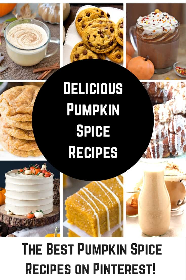 Pumpkin spice recipes are taking over the world! From Pumpkin spice cookies to martinis to butter - these Fall recipes will rock your world.