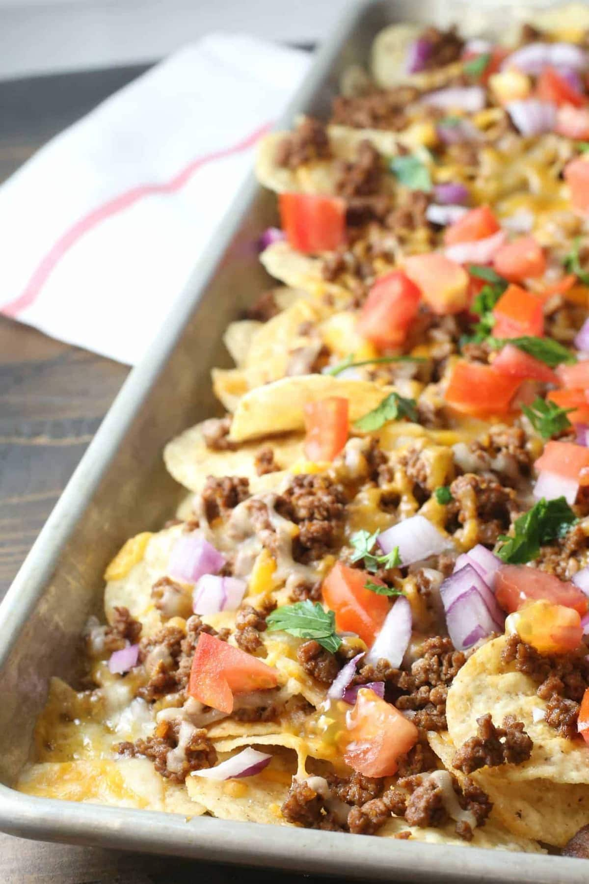 How to make sheet pan nachos