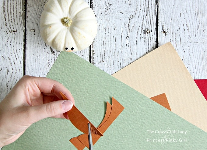 Make your turkey feathers for your turkey craft