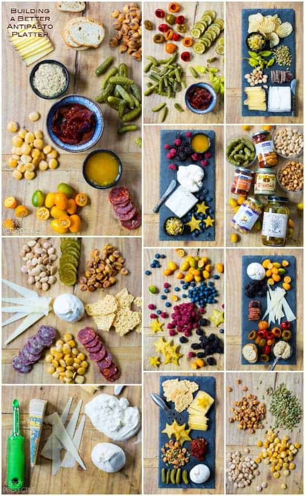 Antipasto Platter Ideas from A Spicy Perspective and other great party food ideas